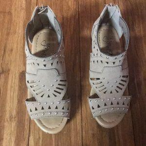 Girls wedge Sandals Size 12